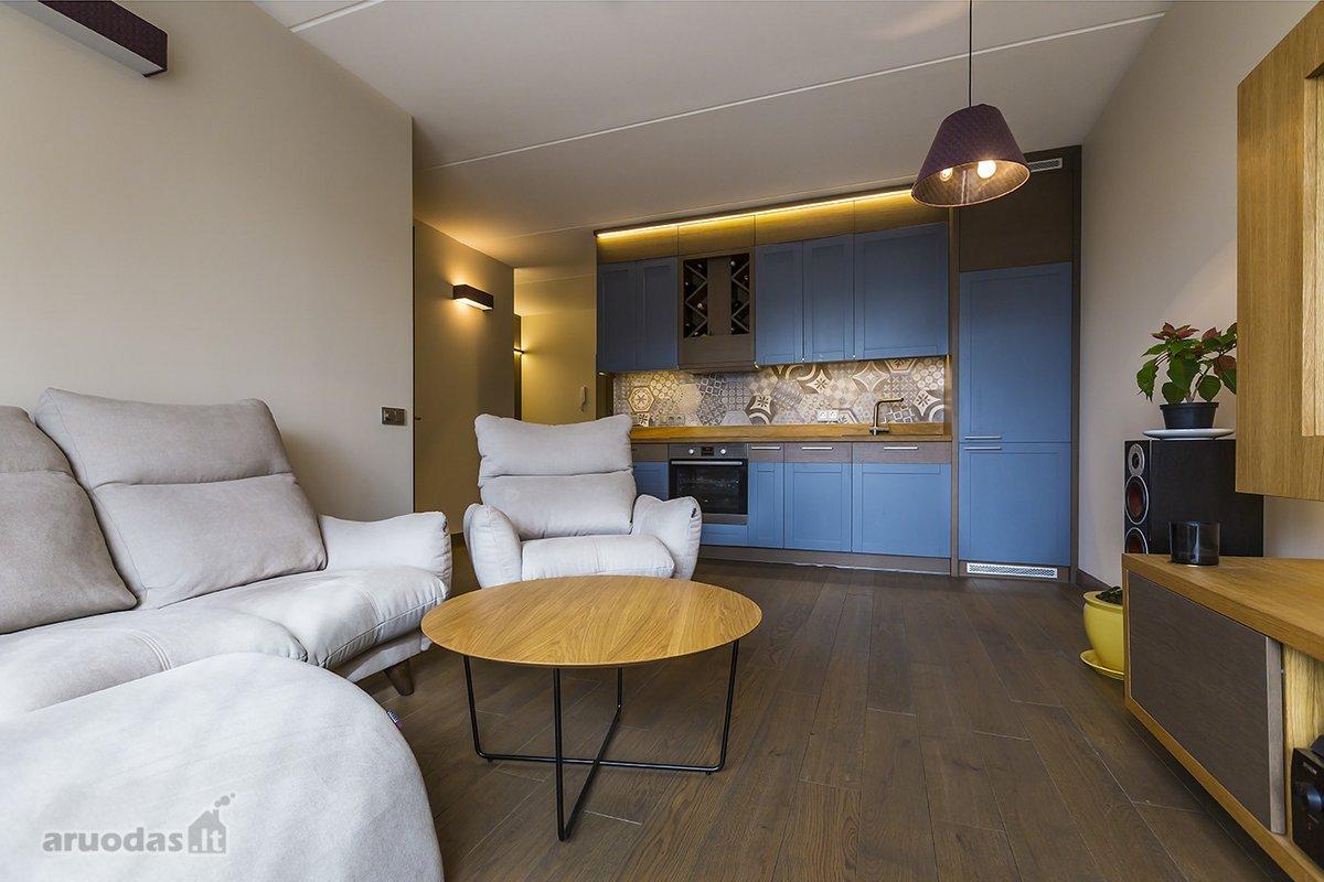 Vilnius, Šnipiškės, Linkmenų g., 2 kambarių butas