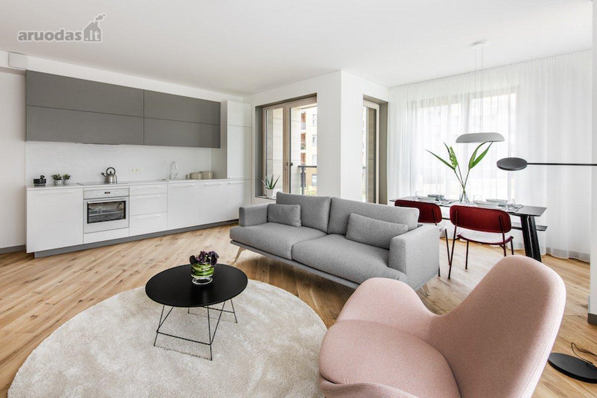 Vilnius, Antakalnis, Nemenčinės pl., 2 kambarių butas