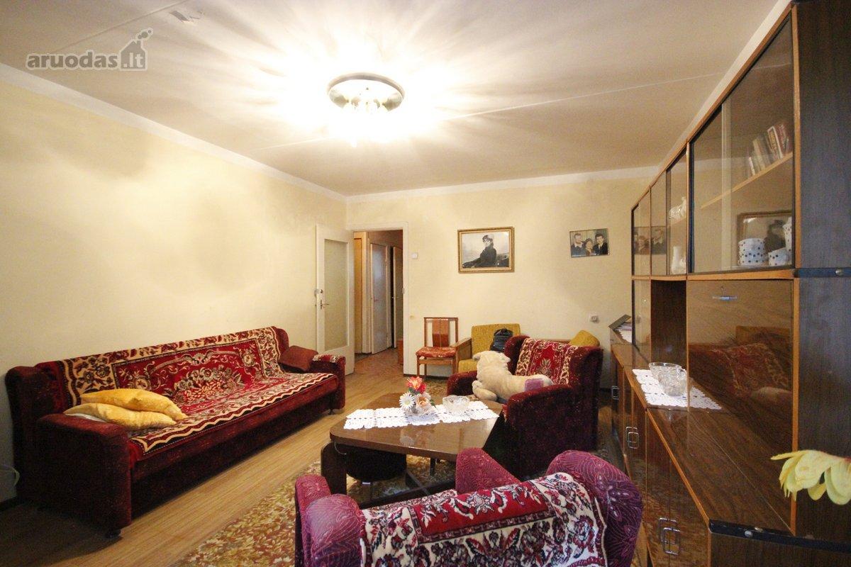 Vilnius, Grigiškės, Kunigiškių g., 2 kambarių butas