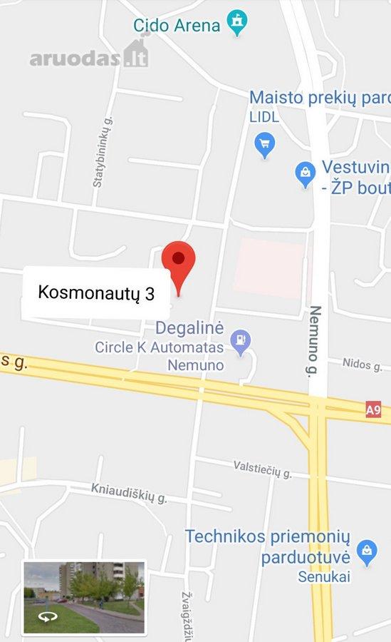 Panevėžys, Klaipėdos, Kosmonautų g., 2 kambarių butas