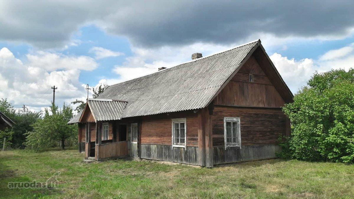 Vilniaus r. sav., Kenos k., log house