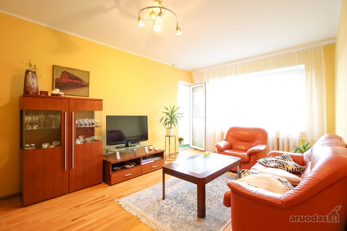 Vilnius, Justiniškės, Justiniškių g., 3 kambarių butas