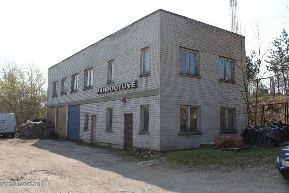 Trakų r. sav., Lentvario m., Kęstučio g., biuro, prekybinės, sandėliavimo, gamybinės paskirties patalpos
