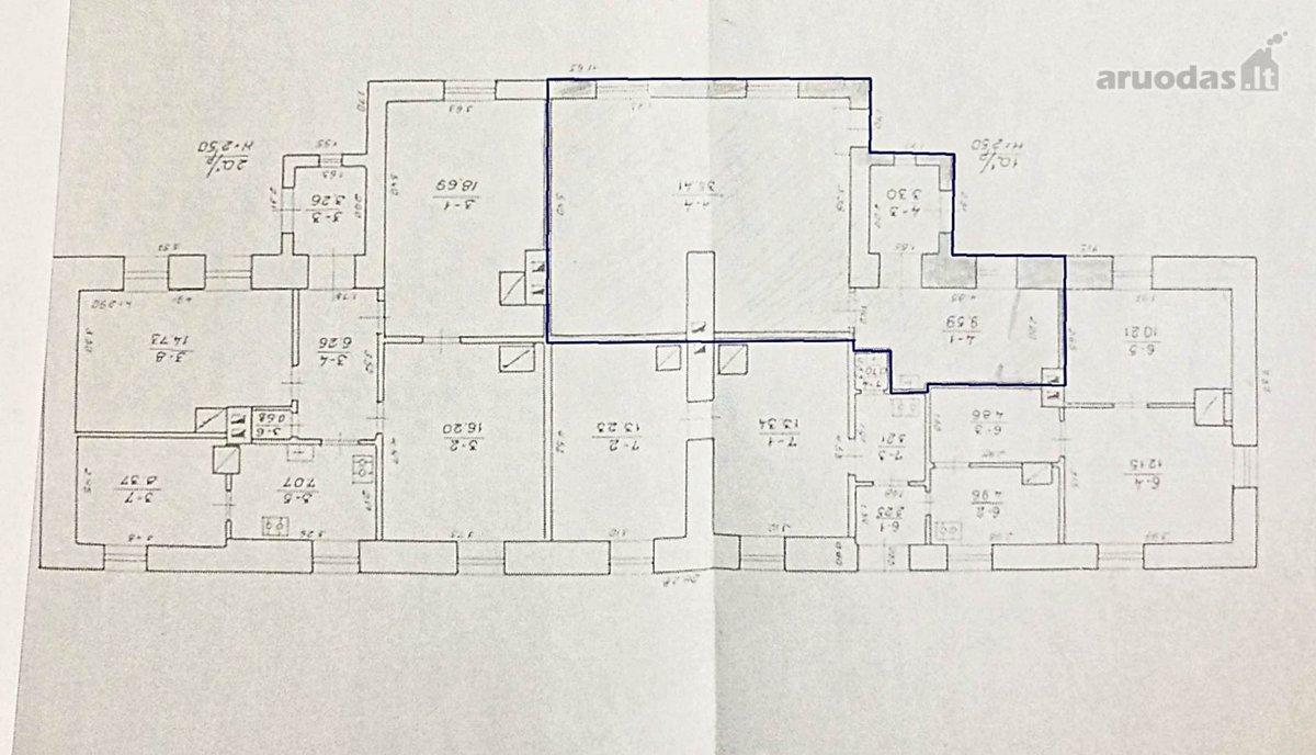 Vilnius, Šnipiškės, Kalvarijų g., biuro, viešbučių, paslaugų paskirties patalpos