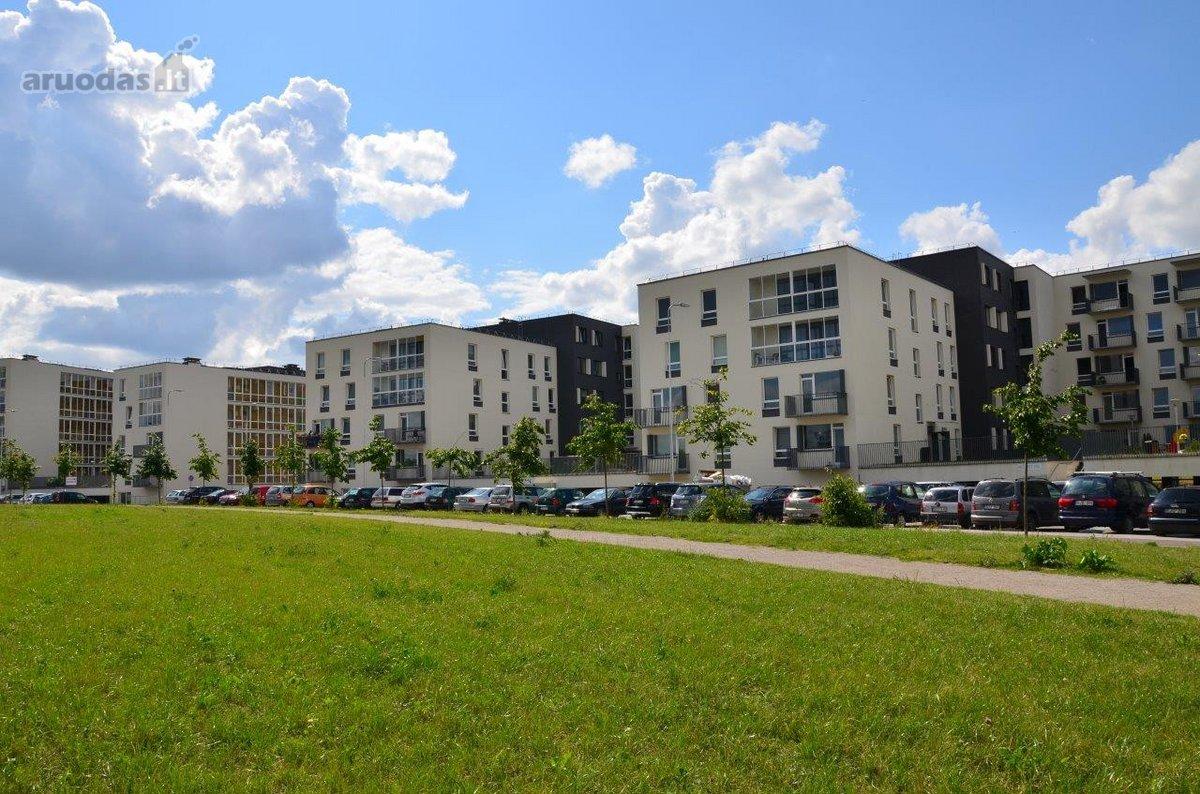 Vilnius, Žirmūnai, Kazio Ulvydo g., 2 kambarių buto nuoma