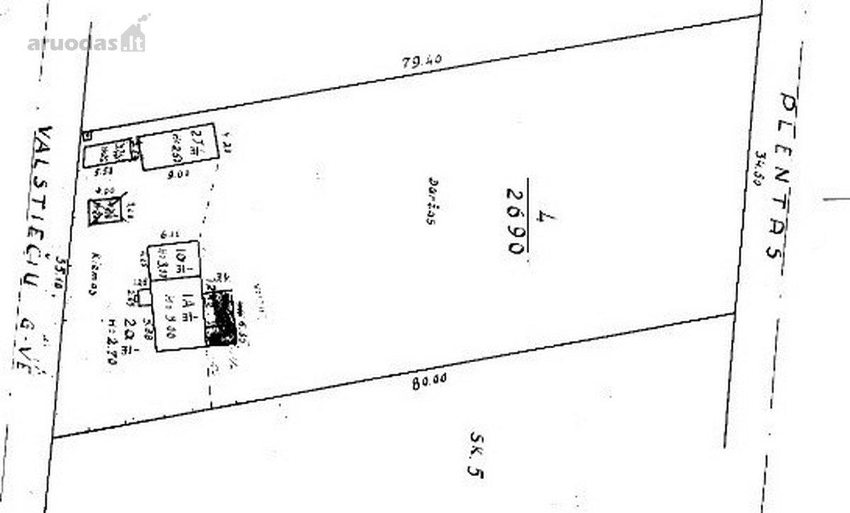 Kalvarijos m., Alytaus g., medinis namas