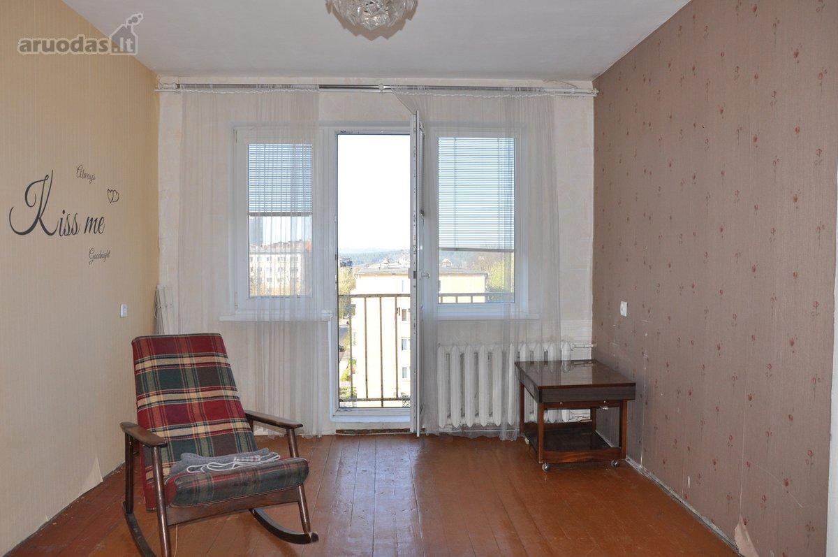 Vilnius, Naujamiestis, Geležinio Vilko g., 2 kambarių butas