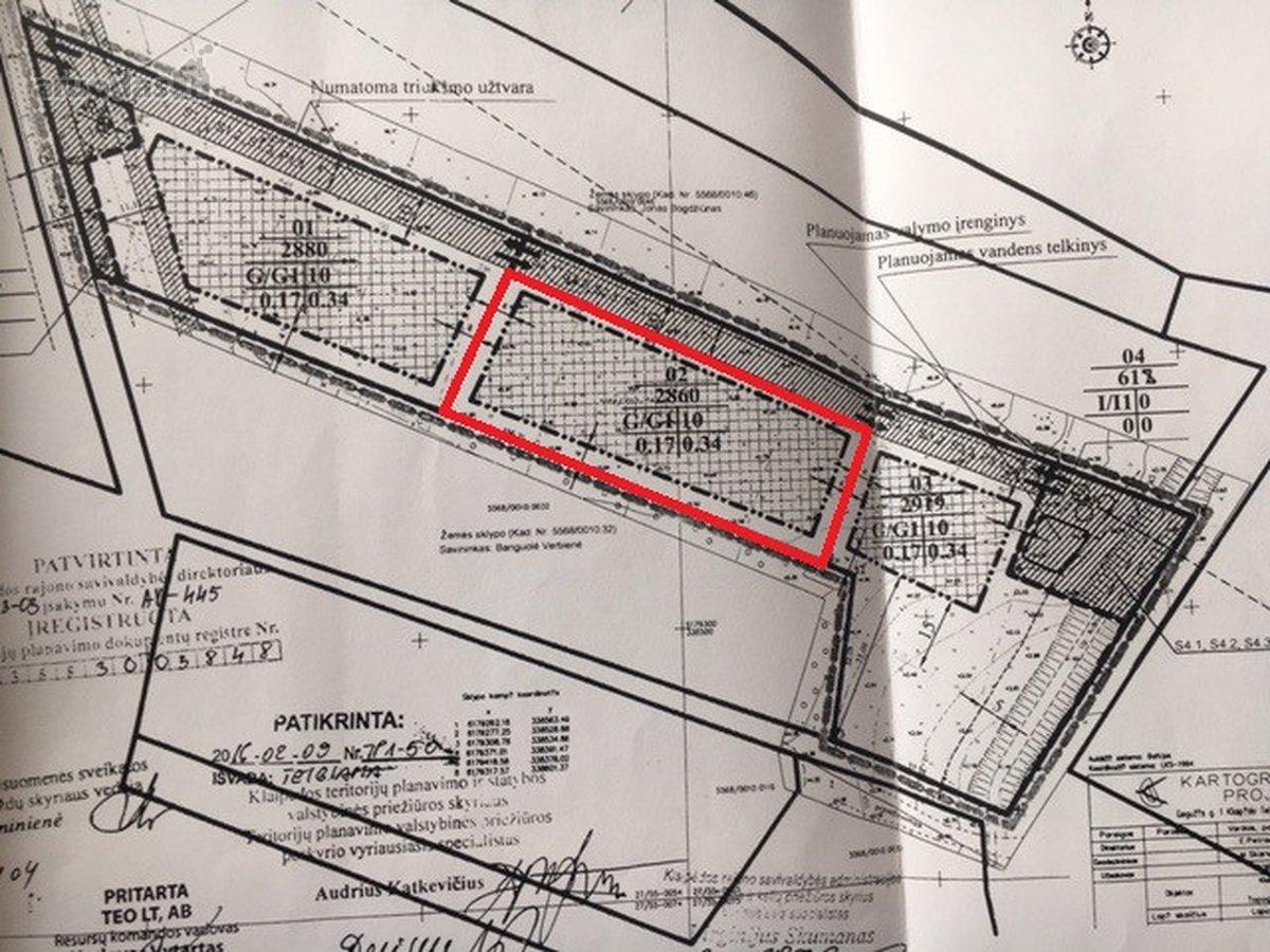 Klaipėdos r. sav., Gerduvėnų k., Gerduvėnų g., namų valdos paskirties sklypas