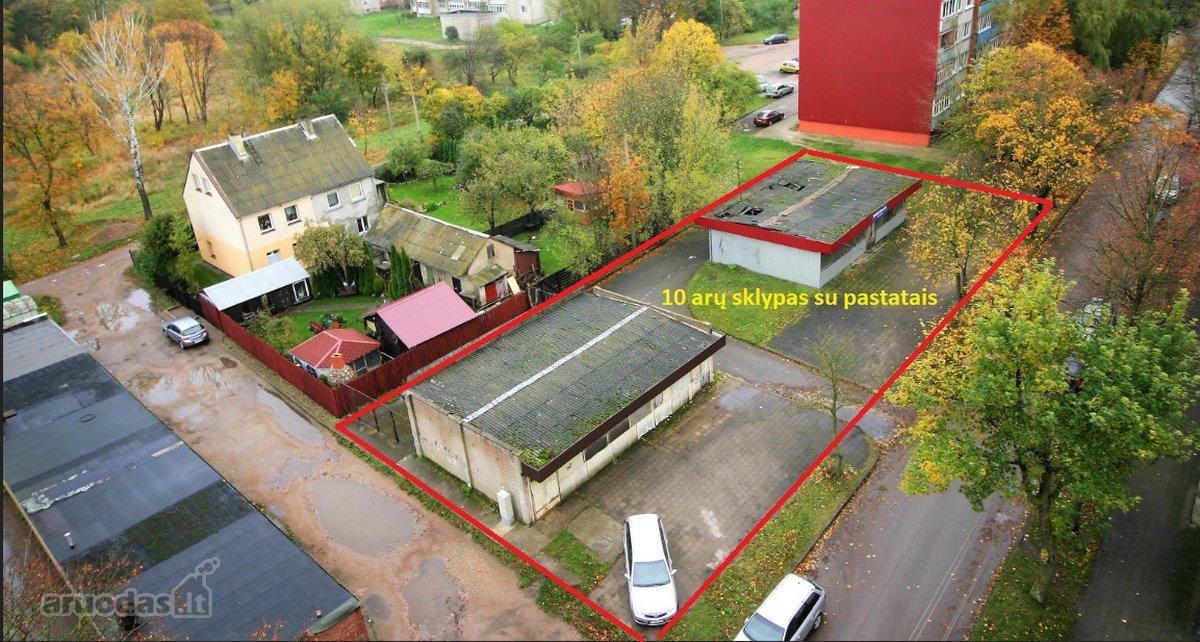 Klaipėda, Žvejybos uostas, Sulupės g., prekybinės, paslaugų, sandėliavimo paskirties patalpos