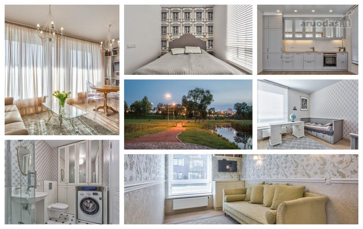 Vilnius, Baltupiai, Kazio Ulvydo g., 4 kambarių butas