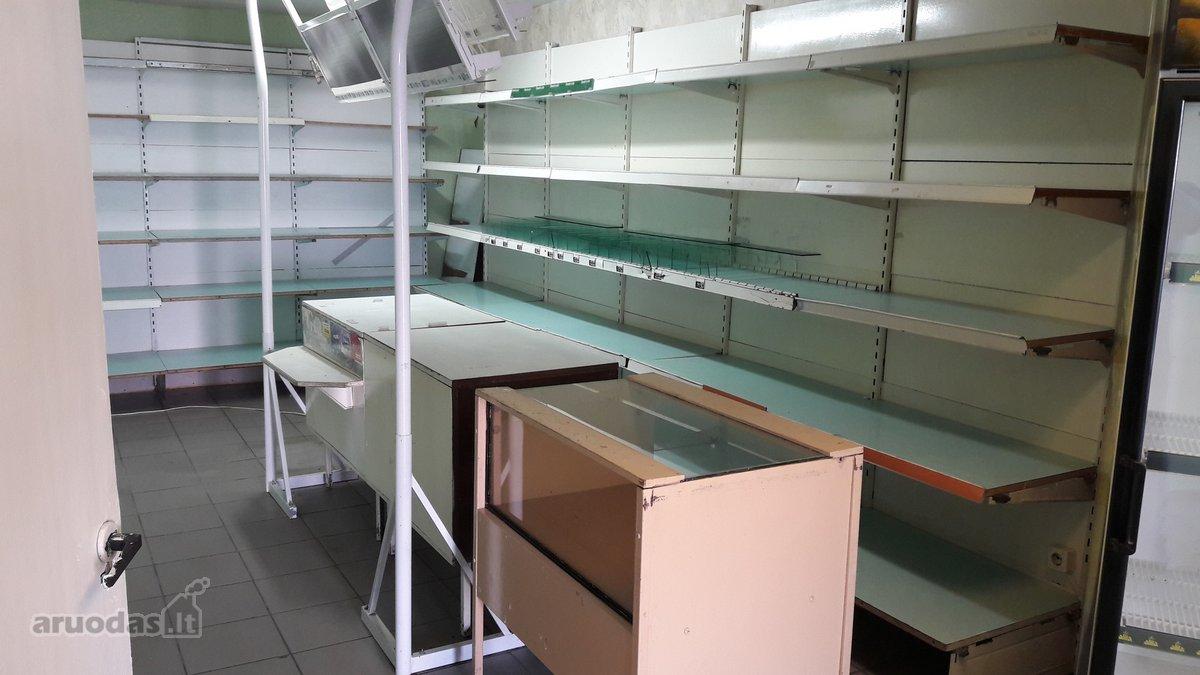Akmenės r. sav., Naujosios Akmenės m., Ramučių g., prekybinės paskirties patalpos
