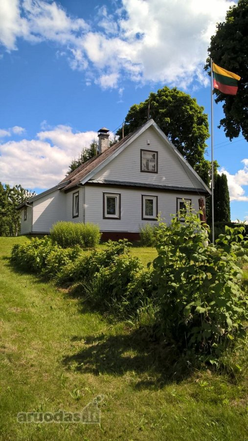 Utenos r. sav., Vidžiūnų k., medinė sodyba