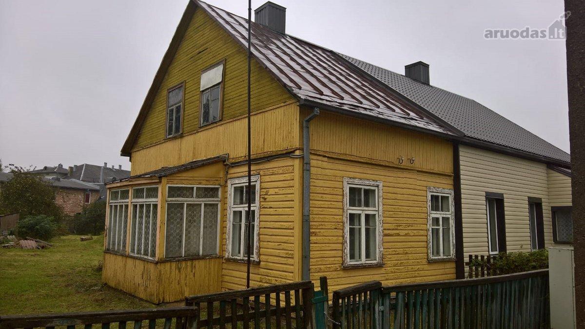 Šiauliai, Centras, M. Valančiaus g., medinio namo dalis