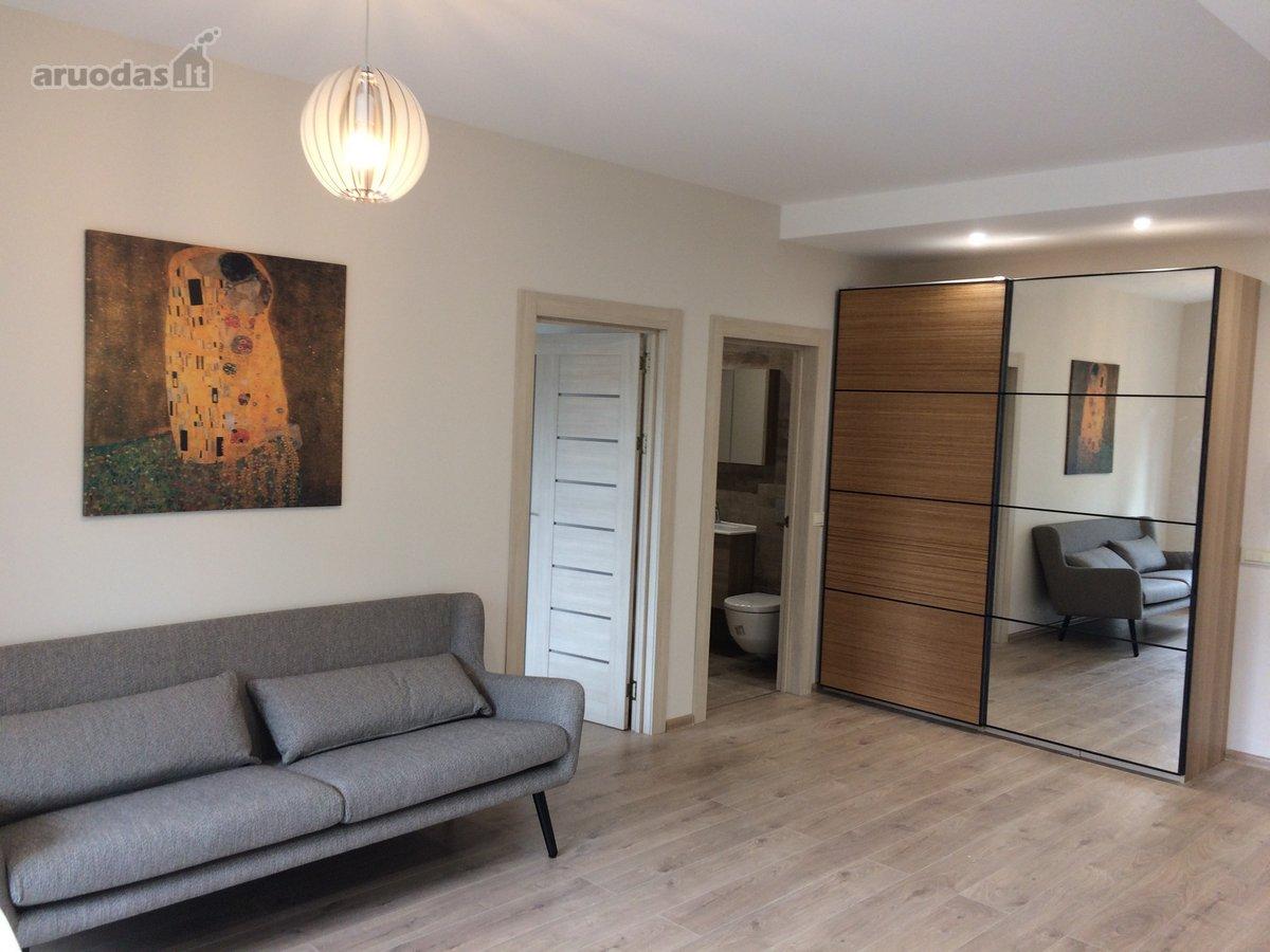 Vilnius, Žvėrynas, Stirnų g., 2 kambarių buto nuoma