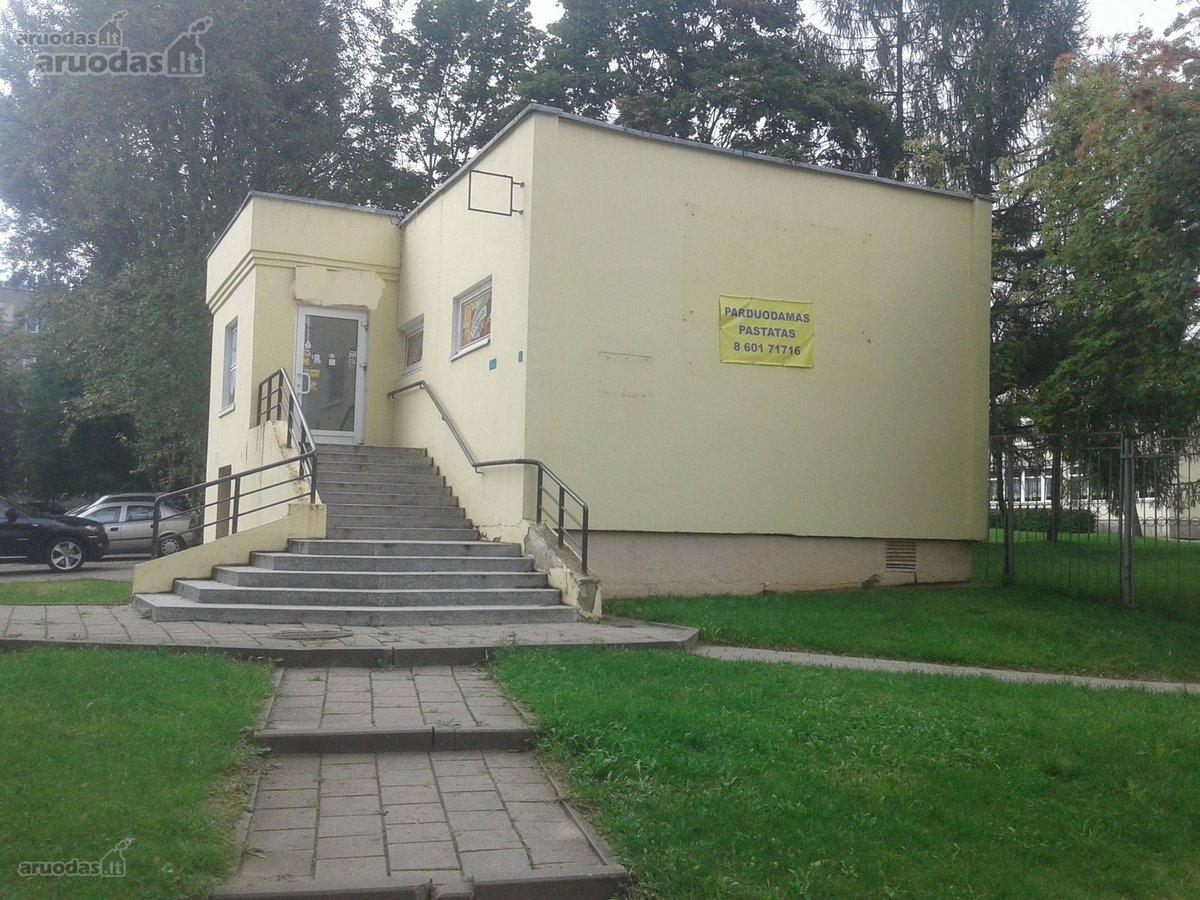 Utenos m., Aukštakalnis, Taikos g., kita paskirties patalpos