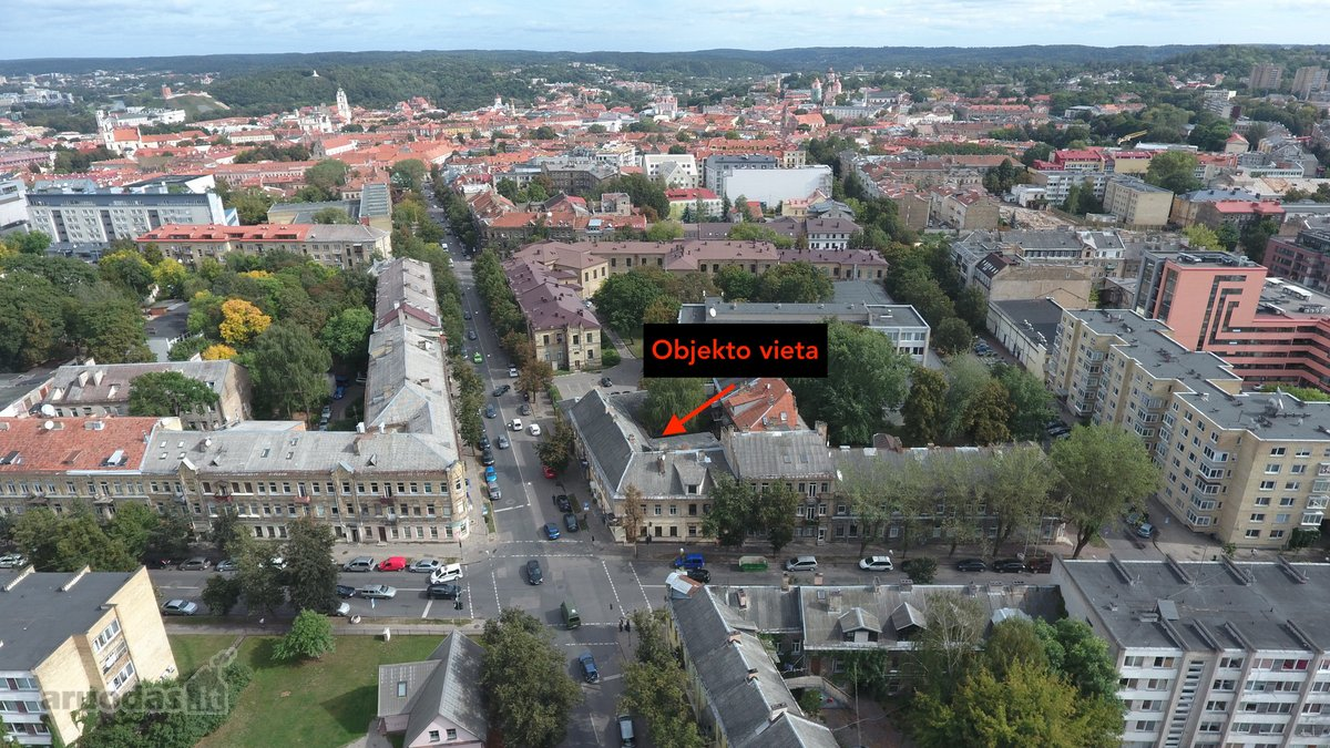 Vilnius, Senamiestis, Naugarduko g., biuro, kita paskirties patalpos