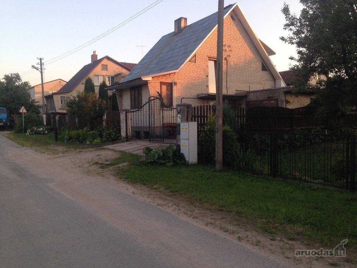 Trakų r. sav., Lentvario m., Ryto g., mūrinis namas