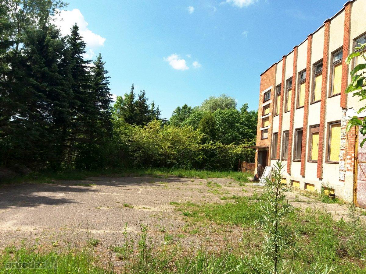 Zarasų m., Šaltupės g., biuro, prekybinės, paslaugų, sandėliavimo, gamybinės paskirties patalpos