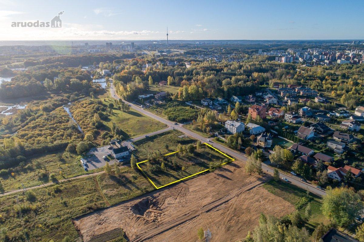 Vilniaus r. sav., Zujūnų k., Buivydiškių g., commercial purpose vacant land