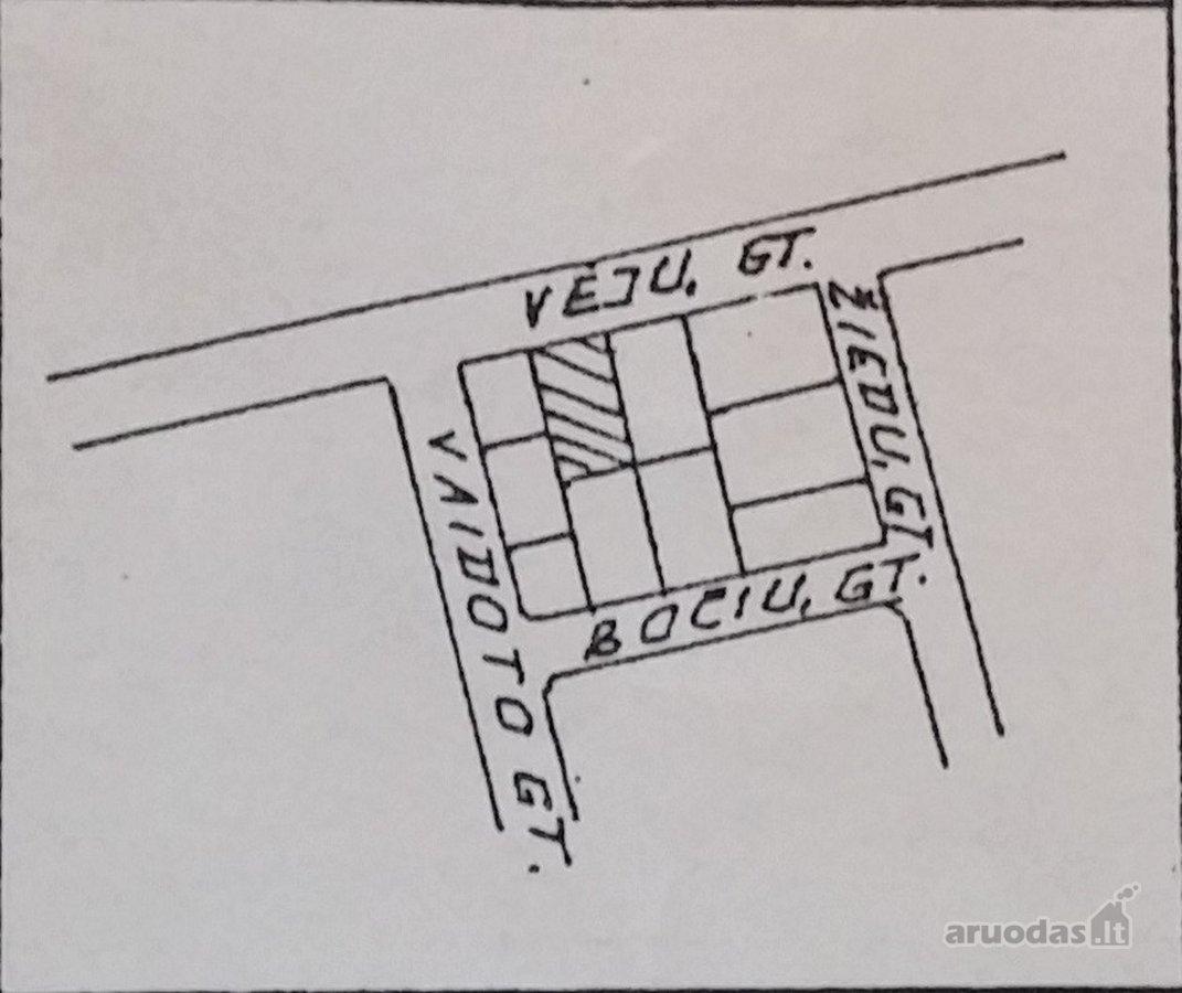 Jurbarko m., Vėjų g., namų valdos paskirties sklypas