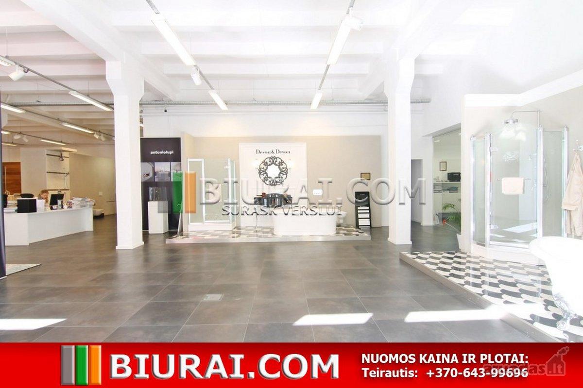 Vilnius, Naujamiestis, Smolensko g., biuro, prekybinės, paslaugų, maitinimo paskirties patalpos nuomai