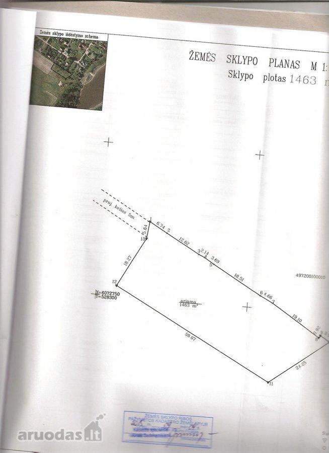 Kaišiadorių r. sav., Žiežmarių m., Žalvarnių g., namų valdos, daugiabučių statybos paskirties sklypas