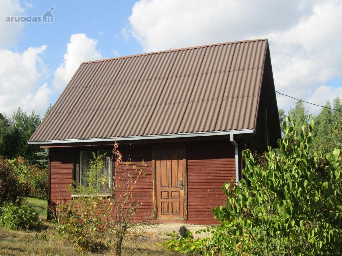 Elektrėnų sav., Girnakalių k., medinis sodo namas