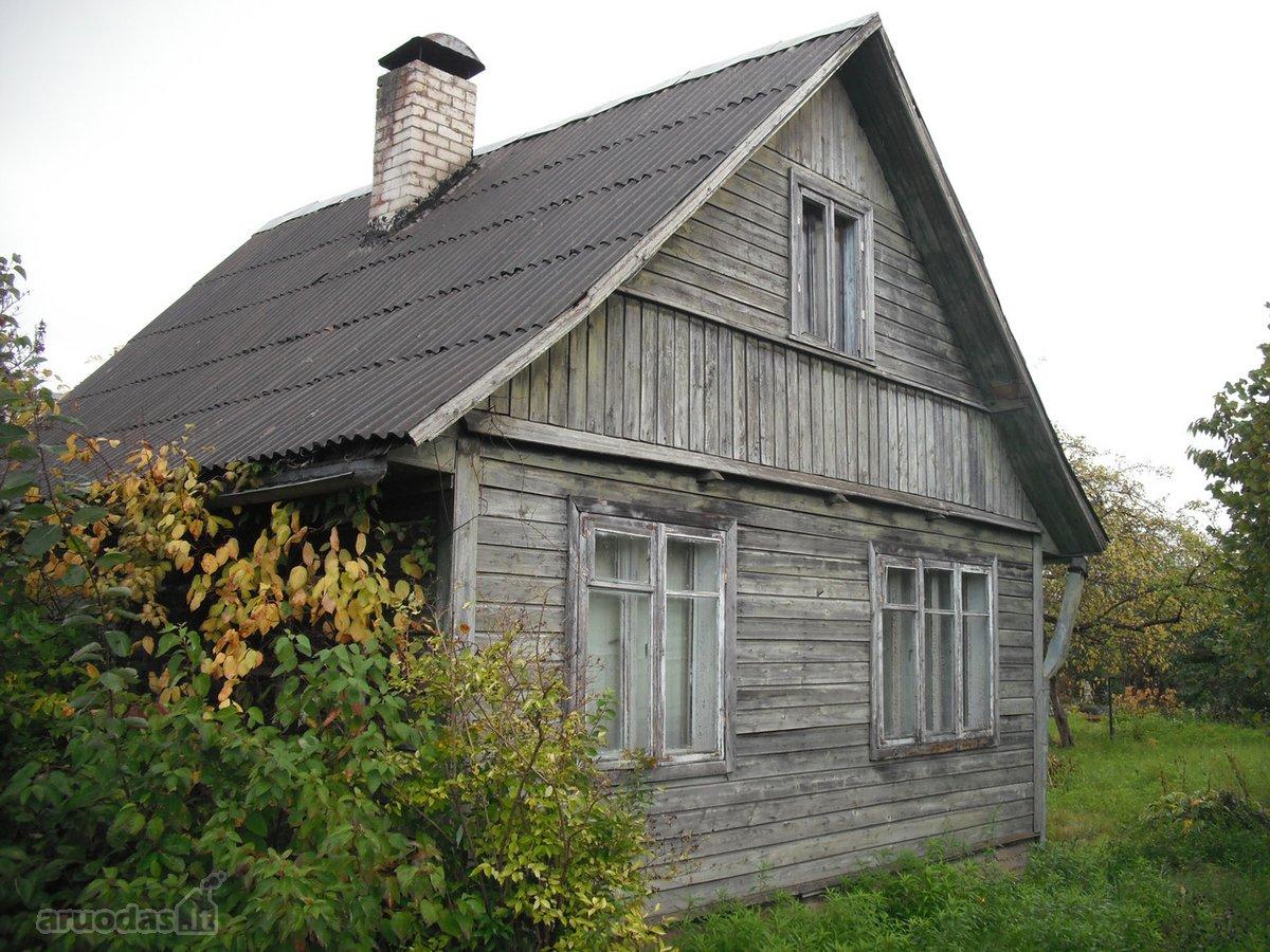 Vilnius, Balsiai, Kryžiokų g., rąstinis sodo namas