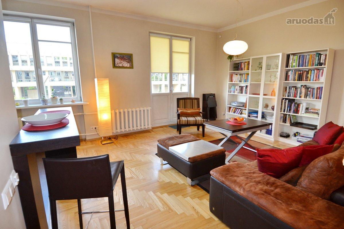 Vilnius, Naujamiestis, Gedimino pr., 2 kambarių buto nuoma