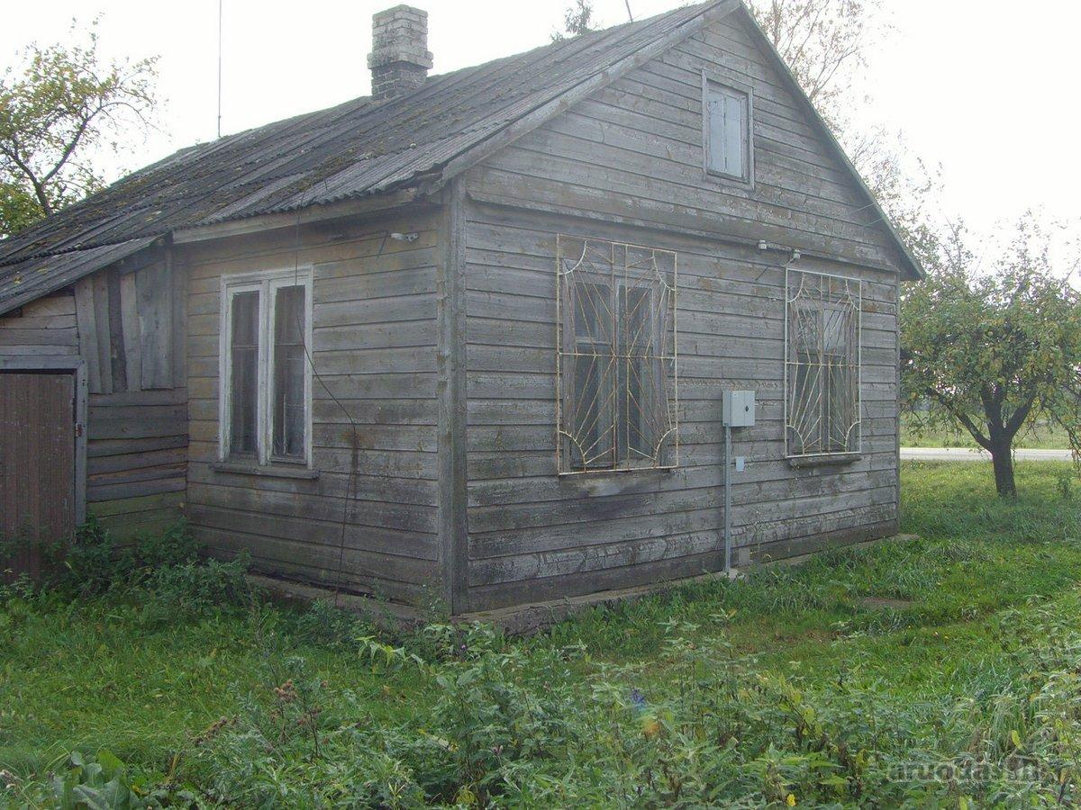 Raseinių r. sav., Požečių k., medinis namas