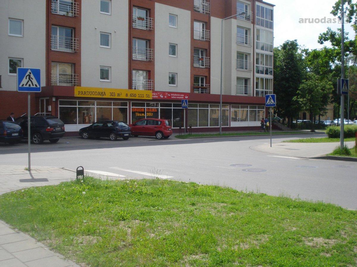Vilnius, Šiaurės miestelis, S. Žukausko g., biuro, prekybinės, paslaugų paskirties patalpos