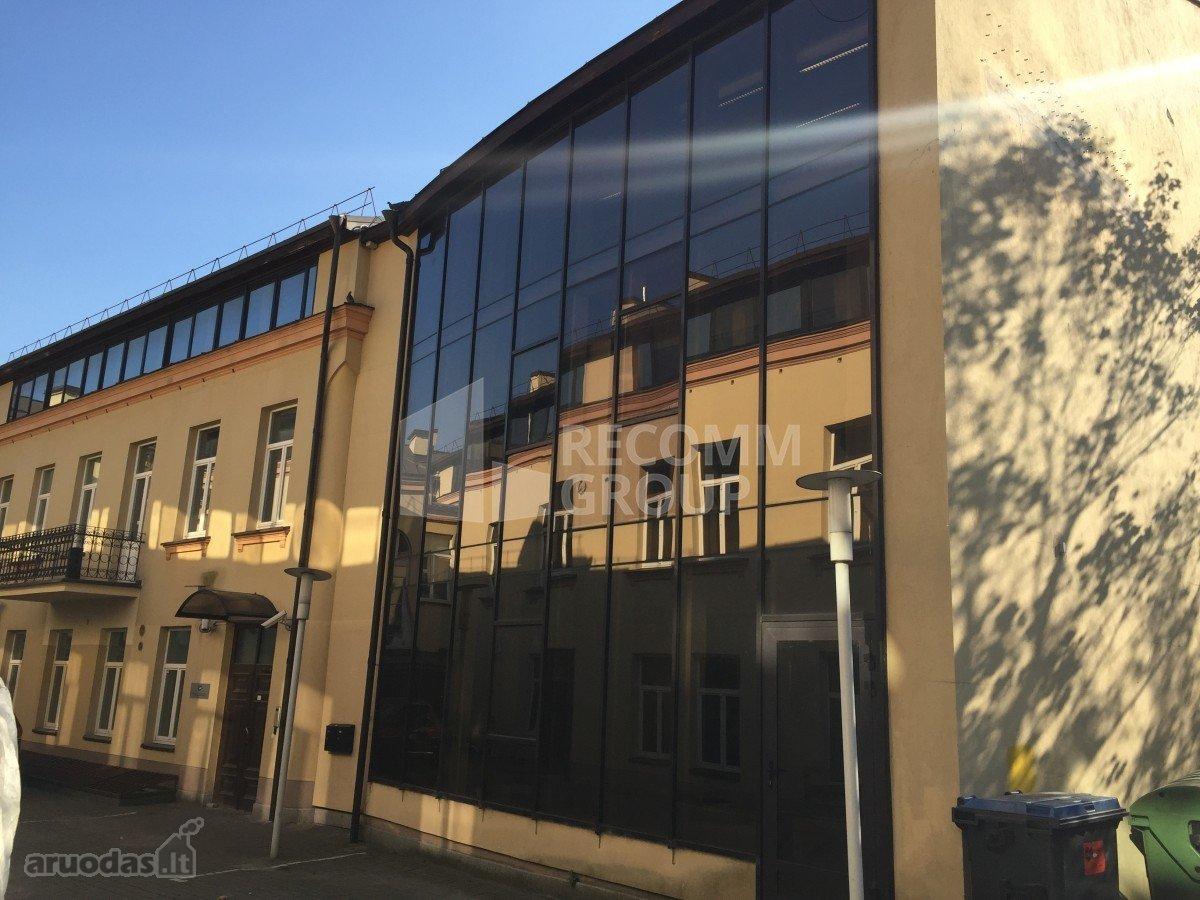 Vilnius, Senamiestis, Vilniaus g., biuro paskirties patalpos