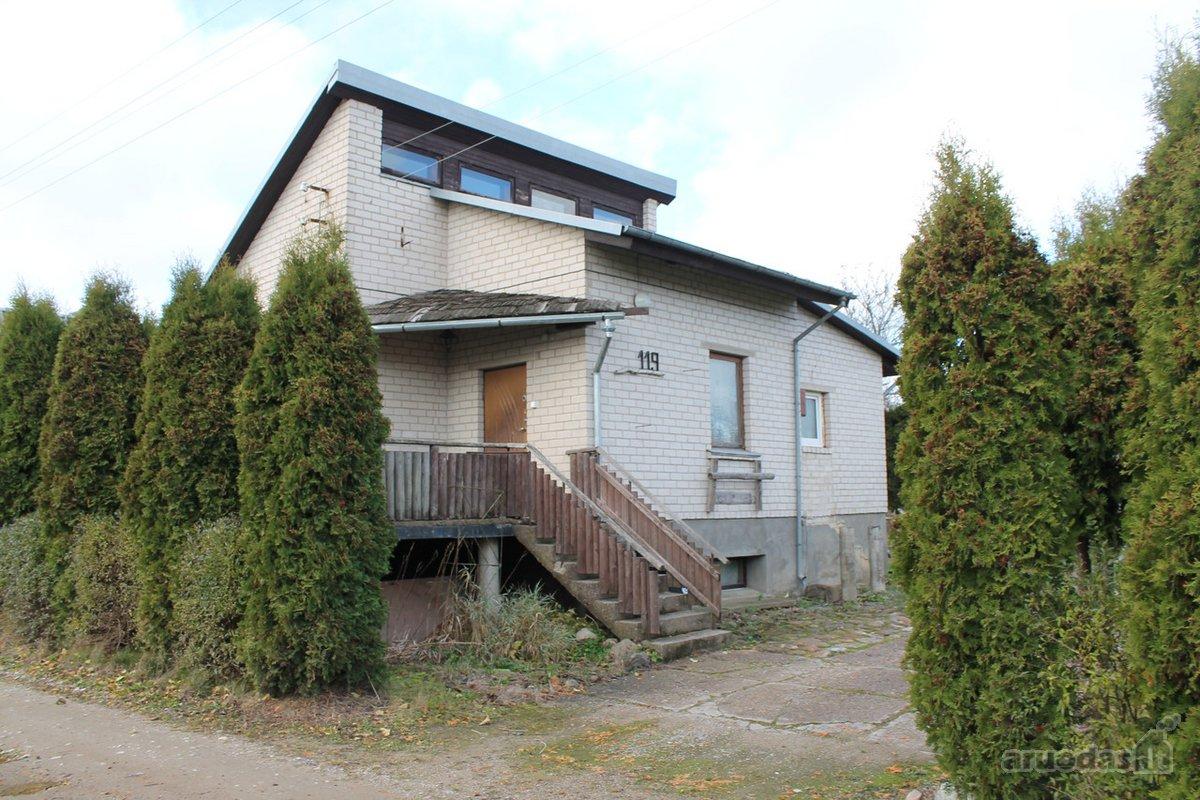 Kretingos r. sav., Rubulių k., Šilo g., mūrinis sodo namas