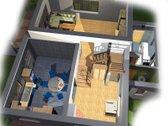 Parduodamas nebaigtas statyti gyvenamas namas