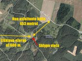 Parduodamas 2,0627 ha. sklypas sodybos