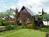 Parduodamas sodo namas su sklypu gražioje