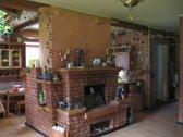 Virtuvė - svetainė apie 47 kv.m. Kieme daug