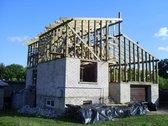 Parduodu, nebaigta statyti namą Palemone,