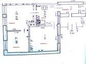 Parduodamas dviejų-trijų kambarių butas