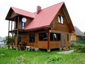 Parduodamas rąstinis namas vaizdingame Trakų
