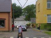 Centrinėje miesto dalyje, prie miesto turgaus