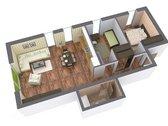 Parduodamas 3 kambarių butas / 68,80 m², /