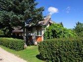 Parduodamas mūrinis sodo namas su palėpe ir