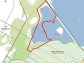 Parduodamas 7 ha Gudelių ežero su 1 ha žemės