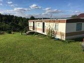 """Kauno r. Girionių km. SB """"Girionys""""  Eglių g.  parduodamas sodas  su 5,77 a.  anglišku mobiliu nameliu (~ 40 m²). Namelis visiškai..."""