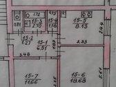 Parduodamas 2 kambarių butas,mūriniame name,