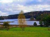 Prie Molėtų observatorijos kitoje ežero