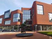 Išskirtinės architektūros biurų pastate,