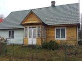 Namas su žemės sklypų šalia upės pakrantės!