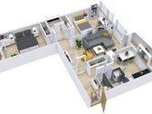 Parduodamas šiltas, šviesus 3 kambarių butas